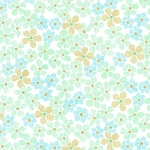 Glitz Flower MC6931 Aqua by Michael Miller