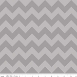Chevron Medium C380-41 Gray Tonal by Riley Blake