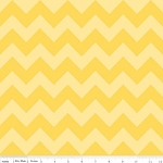 Chevron Medium C380-51 Yellow Tonal by Riley Blake