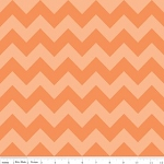 Chevron Medium C380-61 Orange Tonal by Riley Blake