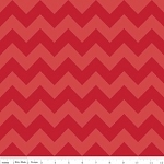 Chevron Medium C380-81 Red Tonal by Riley Blake