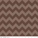 Chevron Medium C380-91 Brown Tonal by Riley Blake