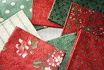 Mistletoe Manor 6 Half Yard Set by 3 Sisters for Moda