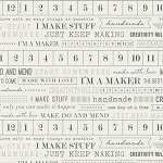 Maker MKR-3891 I'm a Maker by Art Gallery