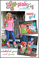 Mod Girl Pattern by Pink Fig Patterns