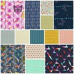 Moonlit 13 Fat Quarter Set by Cotton + Steel