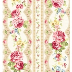 Elegant Roses QMS30752-15A in Cream by Kilala