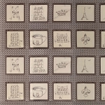 Ooh La La 2830-11 Grey Panel by Bunny Hill for Moda