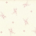 Ooh La La 2830-12 Pink Panel by Bunny Hill for Moda EOB