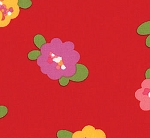Oops A Daisy 32481-12 Red Pods by Keiki for Moda