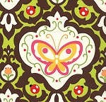 Oops A Daisy 32484-17 Brown Kaleidoscope by Keiki for Moda
