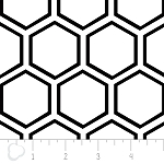 Opposites Attract 4141303-1 White Honeycomb by Camelot