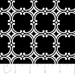 Opposites Attract 4141309-2 Black Medallion by Camelot