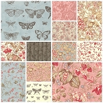 Papillon 12 Fat Quarter Set by 3 Sisters for Moda