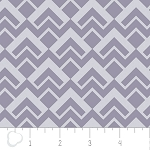 Pastel Me More 2141605-3 Grey Geo Scales by Camelot