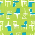 Perfectly Perched 12851-270 Meadow Chairs by Robert Kaufman