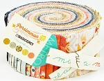 Persimmon Jelly Roll by Basic Grey for Moda
