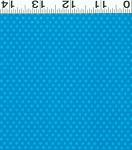 Picnic Pals Organic Y0999-30 Blue Small Dot by Clothworks