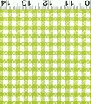 Picnic Pals Organic Y1000-19 Lime Gingham by Clothworks