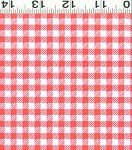 Picnic Pals Organic Y1000-42 Pink Gingham by Clothworks
