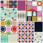 Playful 12 Fat Quarter Set by Melody Miller for Cotton + Steel