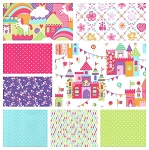 Princess Charming 8 Fat Quarter Set by Michael Miller