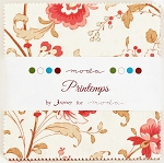 Printemps Charm Pack by 3 Sisters for Moda