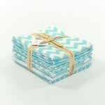 Riley Blake Basics 12 Fat Quarter Bundle in Aqua