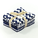 Riley Blake Basics 12 Fat Quarter Bundle in Navy