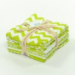 Riley Blake Basics 12 Fat Quarter Bundle in Lime