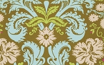 Belle PWAB109 Olive Acanthus by Amy Butler for Westminster