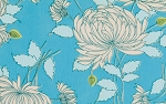 Belle PWAB115 Blue Chrysanthemum by Amy Butler for Westminster