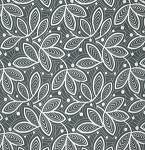 Violette PWAB142 Mineral Leaf Lines by Amy Butler for Free Spirit