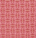 Honor Roll PWAH080 Strawberry Misguided Gingham by Free Spirit