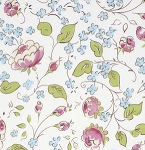 Chinoiserie Chic PWDF199 White Chinois Rose by Free Spirit