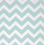 Haute Girls PWDF204 Aqua Chevron by Dena Fishbein for Free Spirit