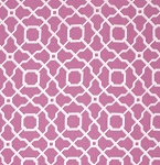 Haute Girls PWDF205 Pink Lattice by Dena Fishbein for Free Spirit