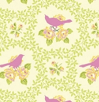 Up Parasol PWHB042 Pink Mockingbird by Free Spirit