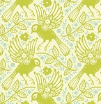 Up Parasol PWHB047 Chartreuse Meadowlark by Free Spirit