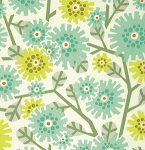 Clementine PWHB051 Aqua Dandybloom by Heather Bailey for Free Spirit