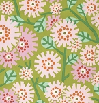 Clementine PWHB051 Olive Dandybloom by Heather Bailey for Free Spirit