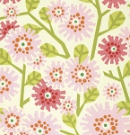Clementine PWHB051 Pink Dandybloom by Heather Bailey for Free Spirit