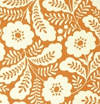 Clementine PWHB059 Tangerine Primrose by Heather Bailey for Free Spirit