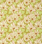 Ginger Snap PWHB060 Ginger Poinsettia by Heather Bailey for Free Spirit