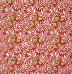 Ginger Snap PWHB060 Red Poinsettia by Heather Bailey for Free Spirit