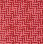 Ginger Snap PWHB061 Red Houndstooth by Free Spirit