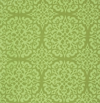 Ginger Snap PWHB062 Green Snowflake by Heather Bailey for Free Spirit