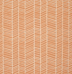 Flora PWJD036 Carrot Herringbone by Joel Dewberry for Free Spirit
