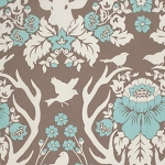 Birch Farm PWJD089 Burlap Antler Damask by Free Spirit