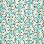Birch Farm PWJD095 Egg Blue Prism by Free Spirit
